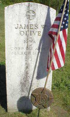 OLIVE, JAMES W. - Marion County, Iowa | JAMES W. OLIVE