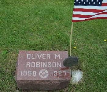 ROBINSON, OLIVER M. - Marion County, Iowa | OLIVER M. ROBINSON