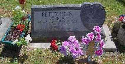 PETTYJOHN, JOHN W. - Marion County, Iowa | JOHN W. PETTYJOHN