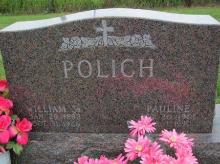 POLICH, SR., WILLIAM - Marion County, Iowa | WILLIAM POLICH, SR.