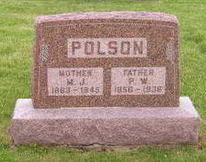 POLSON, POLLY WAKES - Marion County, Iowa | POLLY WAKES POLSON