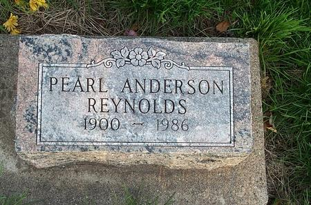 ANDERSON REYNOLDS, PEARL - Marion County, Iowa | PEARL ANDERSON REYNOLDS