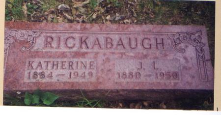 RICKABAUGH, KATHERINE - Marion County, Iowa | KATHERINE RICKABAUGH