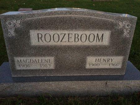 ROOZEBOOM, MAGDALENE - Marion County, Iowa | MAGDALENE ROOZEBOOM