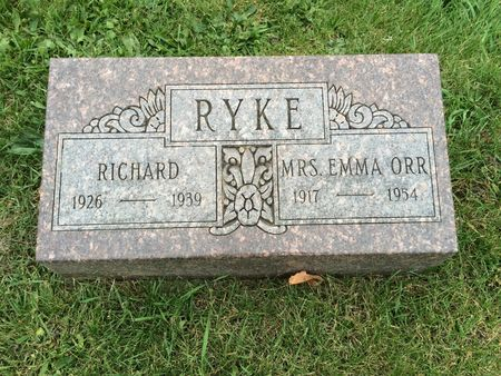 RYKE, RICHARD - Marion County, Iowa | RICHARD RYKE
