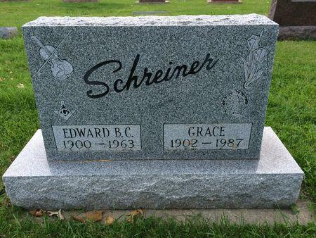 SCHREINER, EDWARD B. C. - Marion County, Iowa | EDWARD B. C. SCHREINER