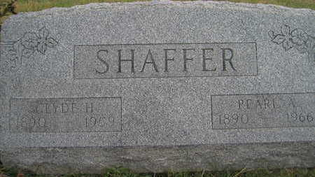 SHAFFER, CLYDE E - Marion County, Iowa | CLYDE E SHAFFER