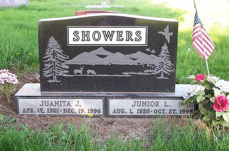 SHOWERS, JUANITA J - Marion County, Iowa | JUANITA J SHOWERS