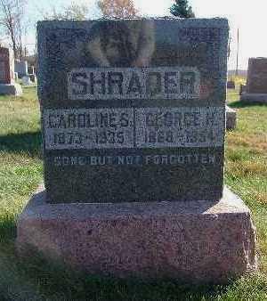 SHRADER, CAROLINE S. - Marion County, Iowa | CAROLINE S. SHRADER