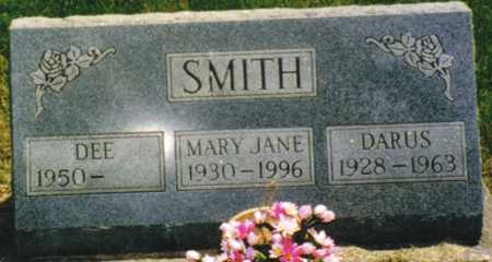 ANGSTEAD SMITH, MARY JANE - Marion County, Iowa | MARY JANE ANGSTEAD SMITH