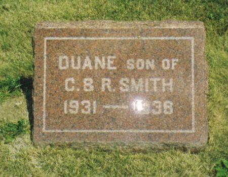 SMITH, DUANE - Marion County, Iowa   DUANE SMITH