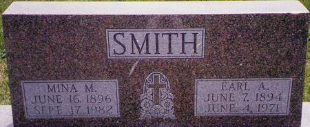 SMITH, MINA - Marion County, Iowa | MINA SMITH