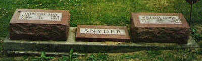 SNYDER, WILLIAM LEWIS - Marion County, Iowa | WILLIAM LEWIS SNYDER