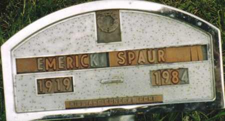SPAUR, EMERICK - Marion County, Iowa   EMERICK SPAUR