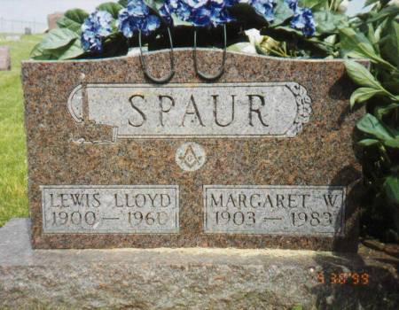 SPAUR, LEWIS LLOYD AND MARGARET W. RATH - Marion County, Iowa | LEWIS LLOYD AND MARGARET W. RATH SPAUR