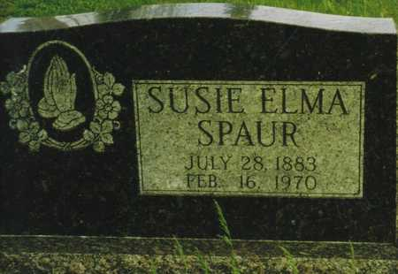 SPAUR, SUSIE ELMA - Marion County, Iowa   SUSIE ELMA SPAUR