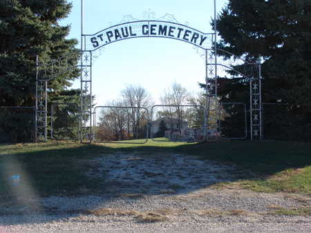 ST. PAUL, CEMETERY - Marion County, Iowa   CEMETERY ST. PAUL