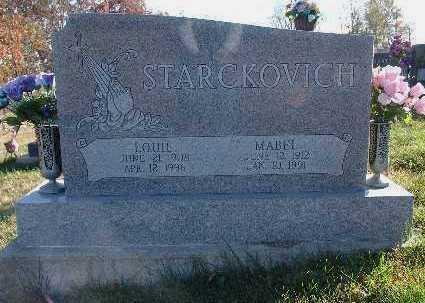 STARCKOVICH, LOUIE - Marion County, Iowa | LOUIE STARCKOVICH