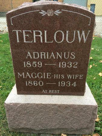 TERLOUW, ADRIANUS - Marion County, Iowa | ADRIANUS TERLOUW