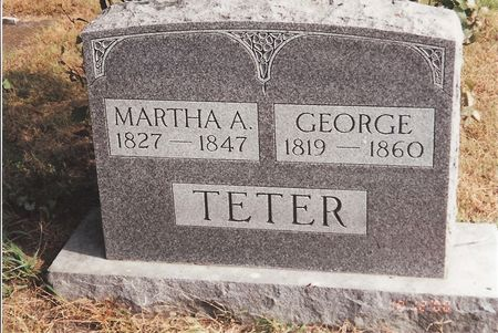TETER, GEORGE - Marion County, Iowa | GEORGE TETER