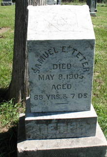TETER, SAMUEL - Marion County, Iowa | SAMUEL TETER