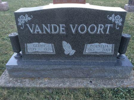 VANDE VOORT, GERRIT - Marion County, Iowa | GERRIT VANDE VOORT