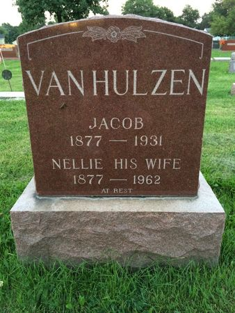 VAN HULZEN, JACOB - Marion County, Iowa | JACOB VAN HULZEN