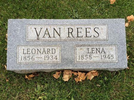 VAN REES, LENA - Marion County, Iowa | LENA VAN REES