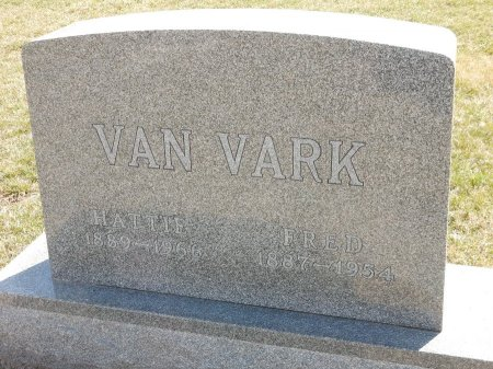 VAN VARK, HATTIE - Marion County, Iowa | HATTIE VAN VARK