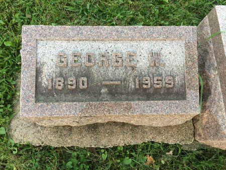 VAN ZEE, GEORGE W. - Marion County, Iowa | GEORGE W. VAN ZEE