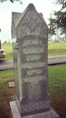 VAUGHN, JOHN LOONEY - Marion County, Iowa | JOHN LOONEY VAUGHN