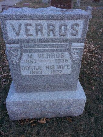 VERROS, MATHIAS - Marion County, Iowa | MATHIAS VERROS