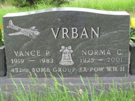 VRBAN, VANCE  P. - Marion County, Iowa   VANCE  P. VRBAN