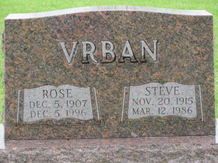 VRBAN, ROSE - Marion County, Iowa | ROSE VRBAN
