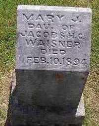 WAISNER, MARY J. - Marion County, Iowa | MARY J. WAISNER