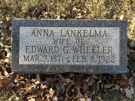 WHEELER, ANNA - Marion County, Iowa | ANNA WHEELER