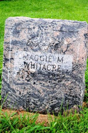 WHITACRE, MAGGIE M - Marion County, Iowa | MAGGIE M WHITACRE