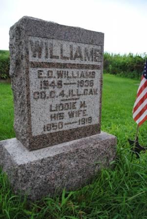 WILLIAMS, LIDDIE M - Marion County, Iowa | LIDDIE M WILLIAMS