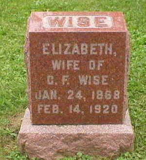 WISE, ELIZABETH - Marion County, Iowa | ELIZABETH WISE
