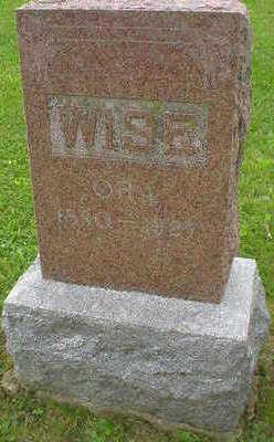 WISE, ORA - Marion County, Iowa   ORA WISE