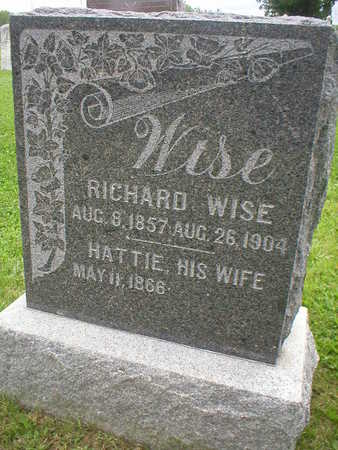 WISE, RICHARD - Marion County, Iowa | RICHARD WISE