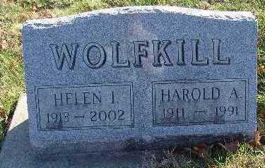 WOLFKILL, HAROLD A. - Marion County, Iowa | HAROLD A. WOLFKILL