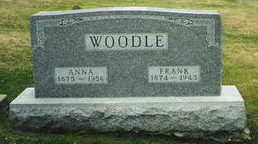 WOODLE, FRANK - Marion County, Iowa | FRANK WOODLE