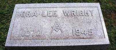 WRIGHT, ORA LEE - Marion County, Iowa | ORA LEE WRIGHT