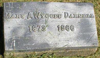 WYCOFF - DARNELL, MARY A. - Marion County, Iowa | MARY A. WYCOFF - DARNELL