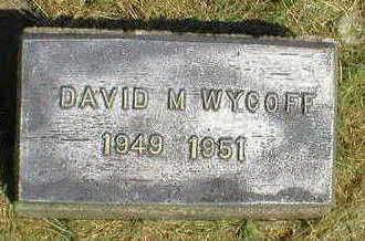 WYCOFF, DAVID M. - Marion County, Iowa | DAVID M. WYCOFF