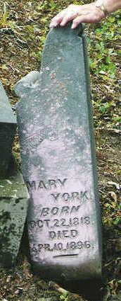 YORK, MARY - Marion County, Iowa | MARY YORK