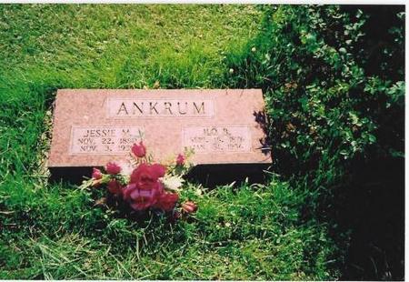 ANKRUM, JESSIE M. & ILO B. - Marshall County, Iowa | JESSIE M. & ILO B. ANKRUM