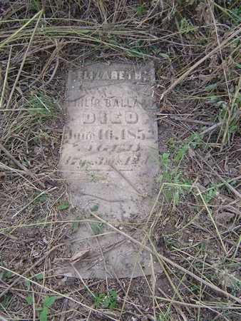 PARKS BALLARD, ELIZABETH - Marshall County, Iowa | ELIZABETH PARKS BALLARD