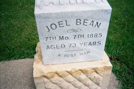 BEAN, JOEL - Marshall County, Iowa | JOEL BEAN
